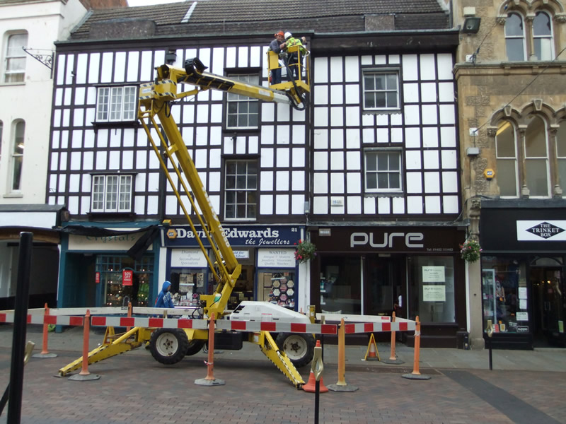 Listed building restoration - Mwh global uk head office ...
