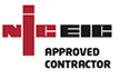 NIC EIC Logo - Approved Contractor